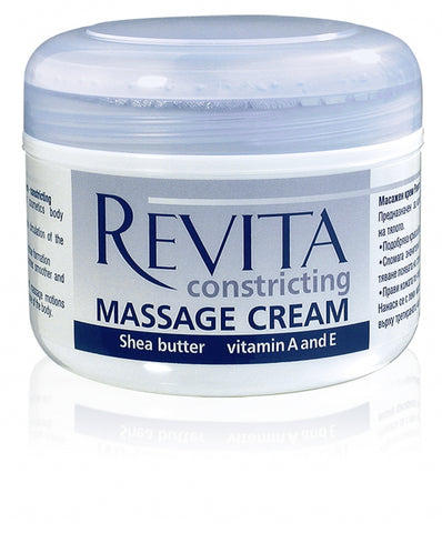 Revita Massage Cream with Eucalyptus oil and Shea butter 8 oz / 240 ml