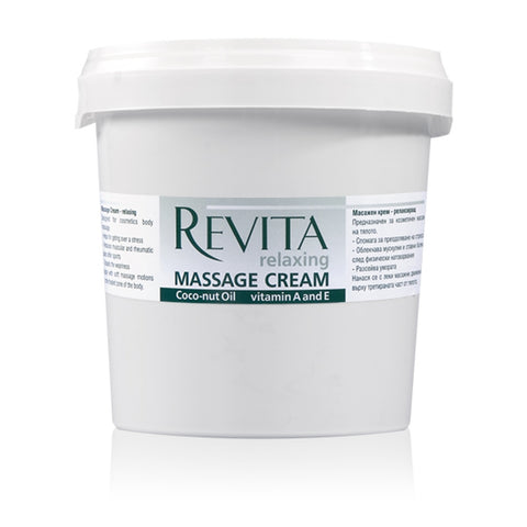 Relaxing Massage Cream with Lavender Extract