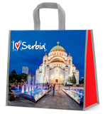 I love Serbia shopping bag