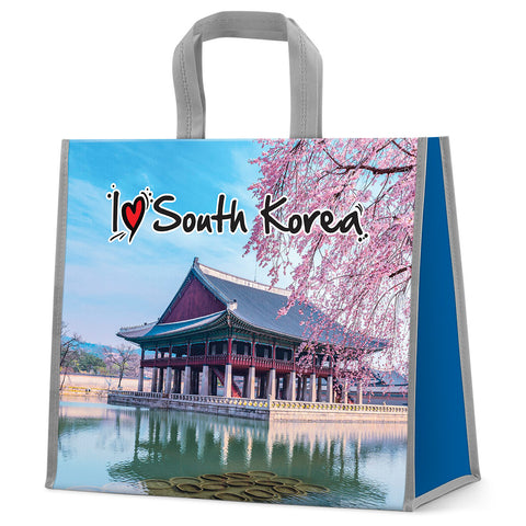 I love South Korea shopping bag