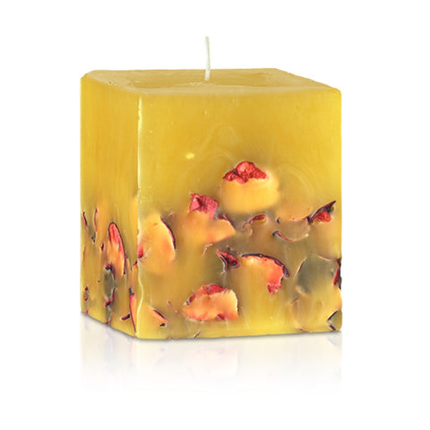 hand crafted candle with Ylang Ylang oil