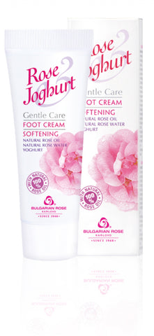 Rose Yogurt Softening Foot Cream