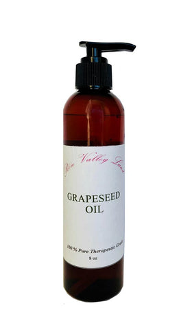 Grape Seed Oil in 8 oz Pump Bottle