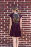 Burgundy Lace Dress - BCBGeneration