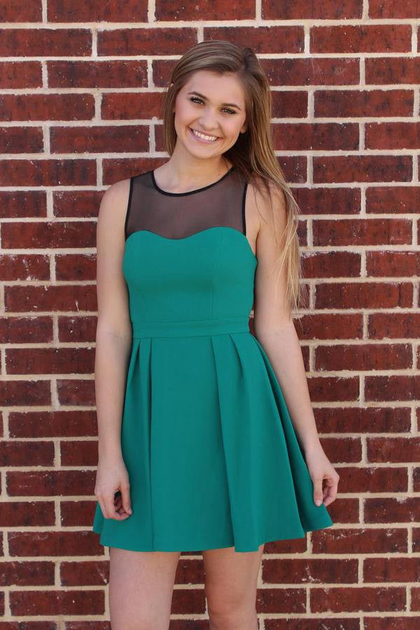 Emerald Sweetheart Dress - BCBGeneration