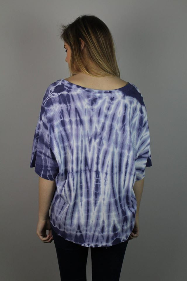 Tie-Dye Loose Fit Top