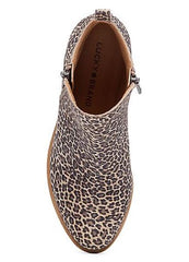 Leopard Basel Bootie By Lucky Brand