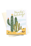 Howdy Holidays Card