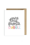 Favorite Muggle Card