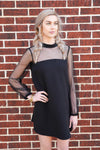 All Things Pretty Dress - Black