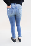 Amy High Rise Distressed Skinny Jeans