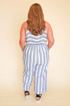 Memorable Striped Jumpsuit +