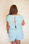 Weekend Bliss Romper - Mint +