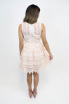 Peach Blossom Lace Dress - BB Dakota - Luna Boutique