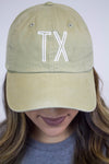 Texas State Hat - Beige - Luna Boutique