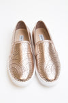 Rose Gold Sneaker - Steve Madden - Luna Boutique