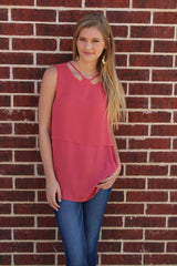 Pink Layered Top - BCBGeneration