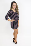 Just My Stripe Romper