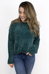 Lost in the Forest Chenille Sweater