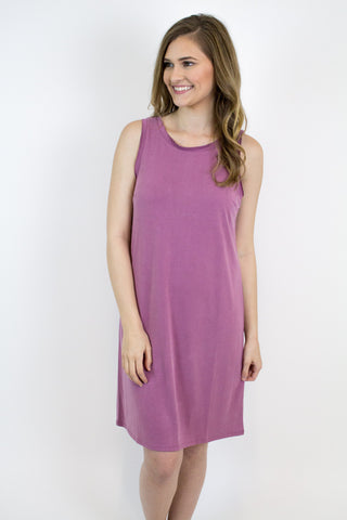 Purple Modal Dress