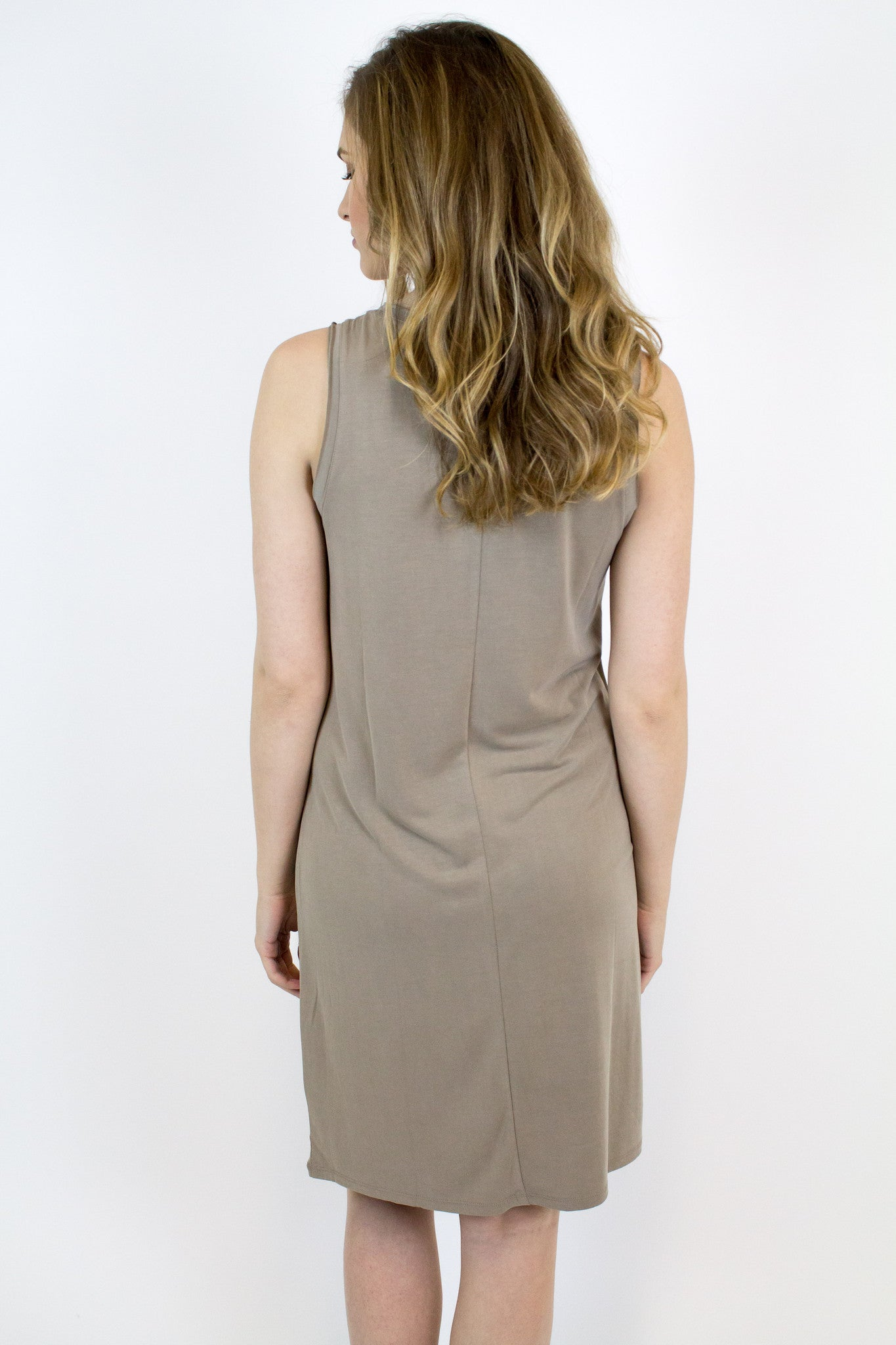 L. Brown Modal Dress