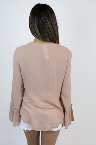 Blush Crossover Top
