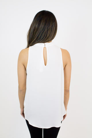 White Tank With a Twist