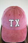 Texas Retro Hat - Red - Luna Boutique