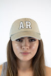 Arkansas Retro Hat - Beige