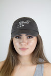 Texas Sparkle Hat - Grey - Luna Boutique