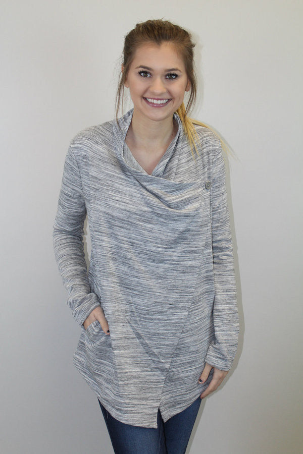 Heather Grey Sweater - Jack by BB Dakota