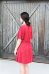 Ruby Tie Side Dress
