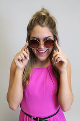 Moonie Gold Sunglasses