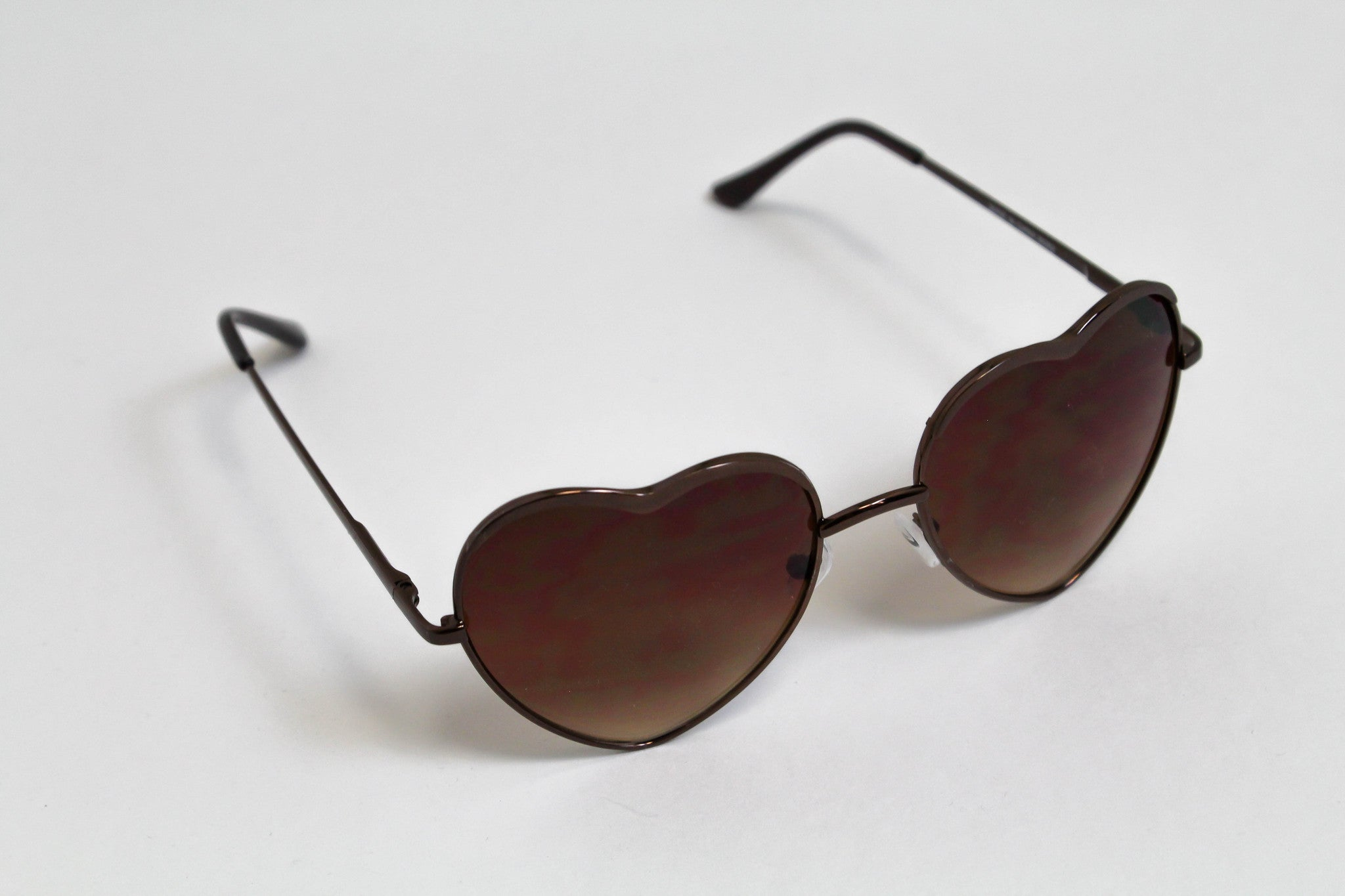 Heart of Glass - Bronze Sunglasses