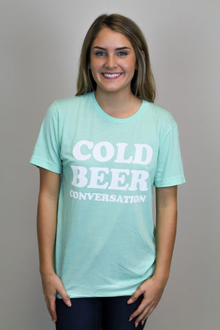 Cold Beer Conversation Tee