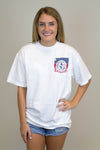USA Pocket Tee - Luna Boutique