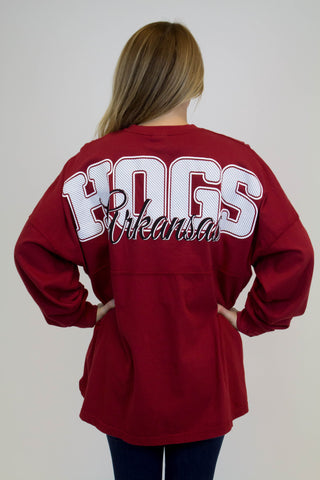 Hogs Long Sleeve Spirit Tee