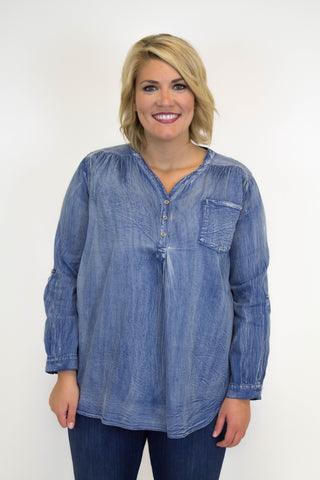 Denim Acid Wash - Plus Size