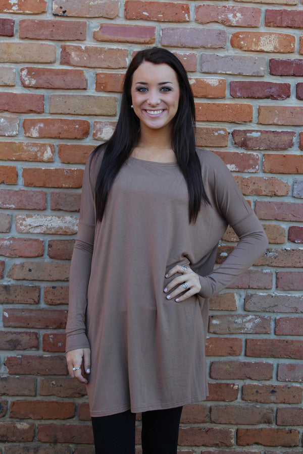 Light Brown Piko Tunic/Dress