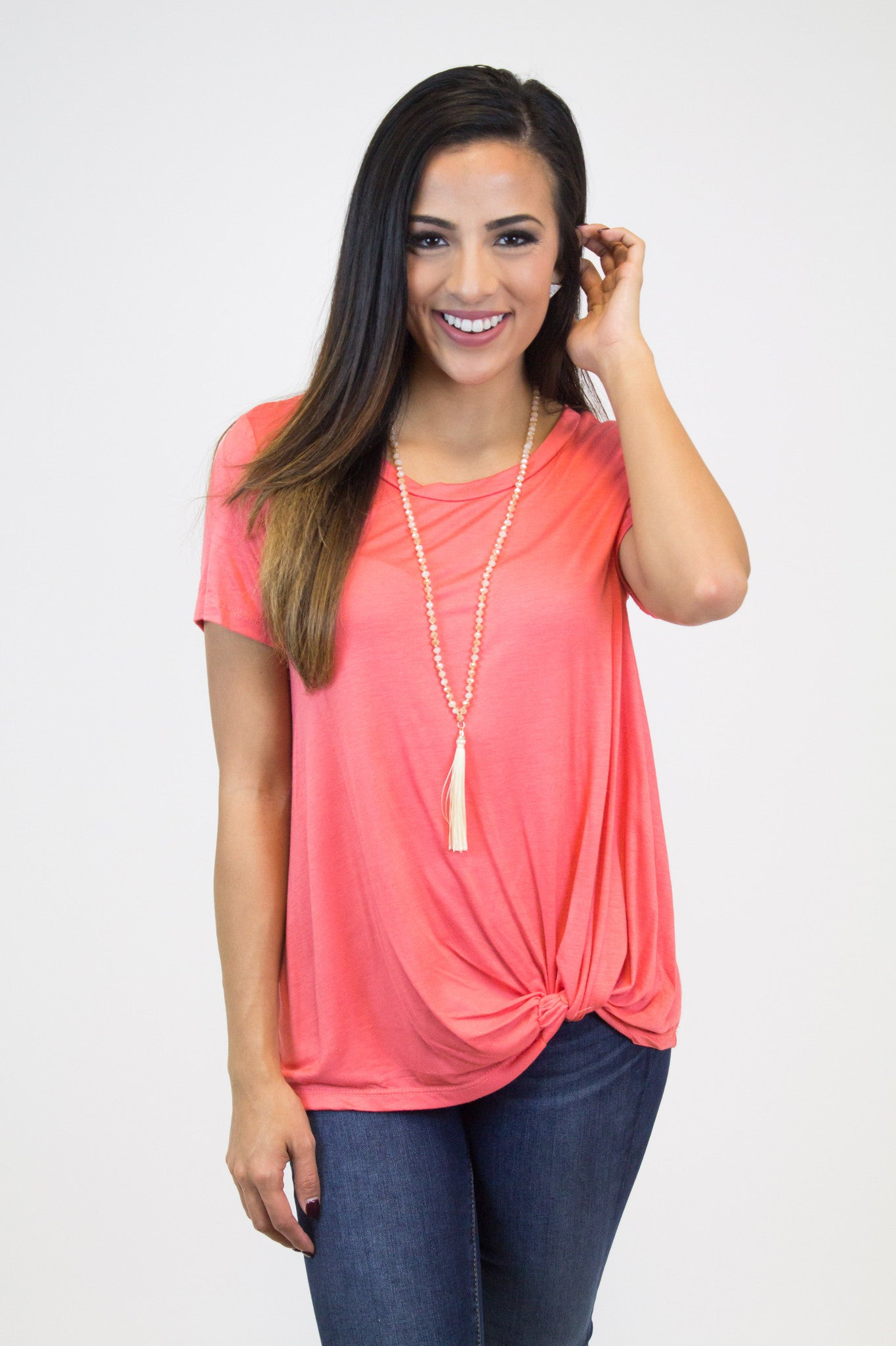 Coral Knot Top