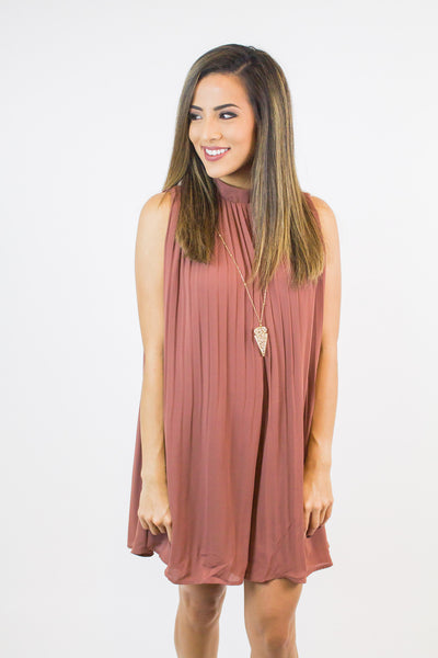 Blush Pleated Romper