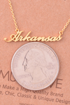 Arkansas Necklace - Gold