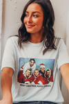 christmas + happy holidays tee