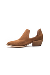 Rust Suede Booties - Chinese Laundry