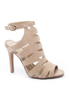 Nude Cutout Suede Sandal - Chinese Laundry