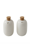 Ceramic Salt & Pepper Shakers - Set