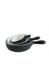 Mini Serving Bowls - Black