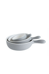 Mini Serving Bowls - Grey