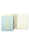 Curious Concealed Spiral Notebook - Kate Spade