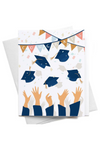 Congrats Graduation Caps Card